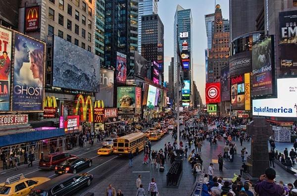 Онлайн камеры Таймс-сквер, Нью-Йорк