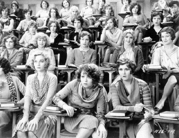 На лекции по сексологии, 1929.