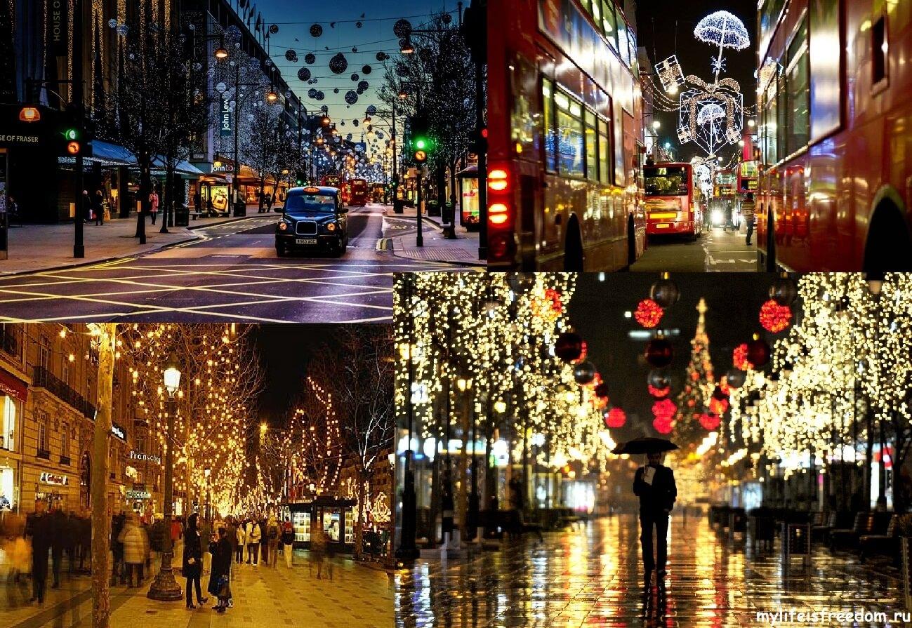 Новогодний лондон
