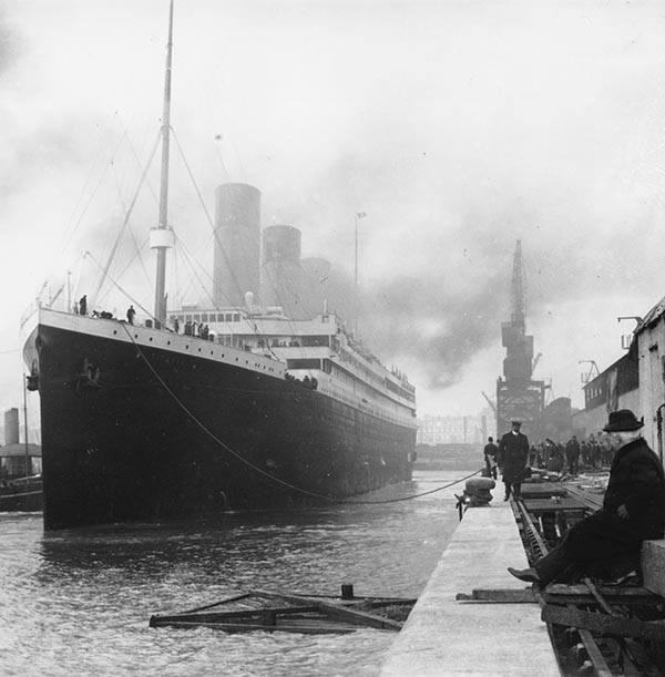 Титаник 1912 год