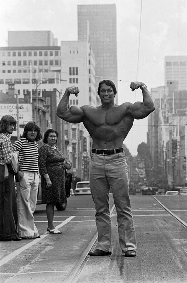 Arnold Schwarzenegger 1974