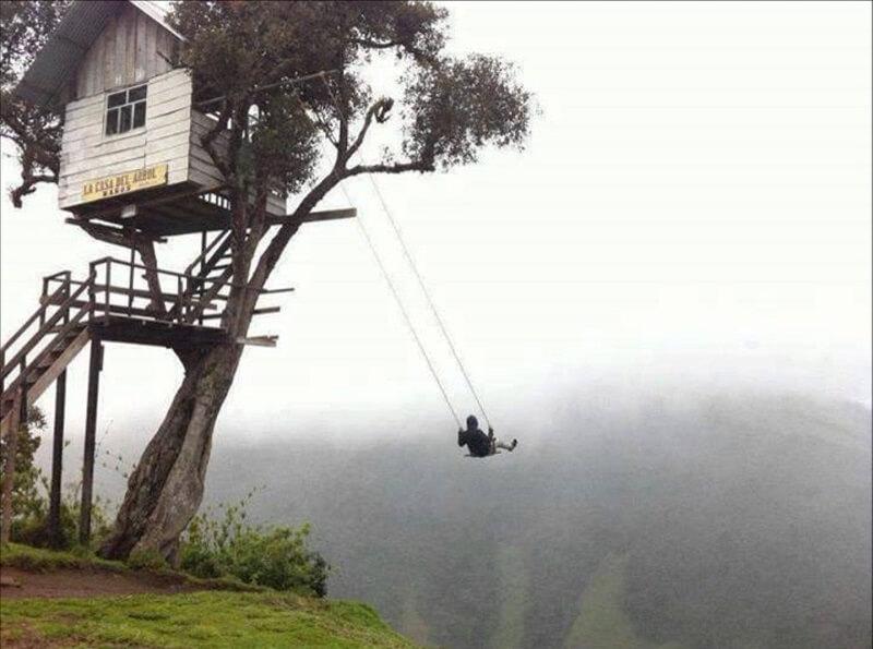Качели на краю света, Эквадор